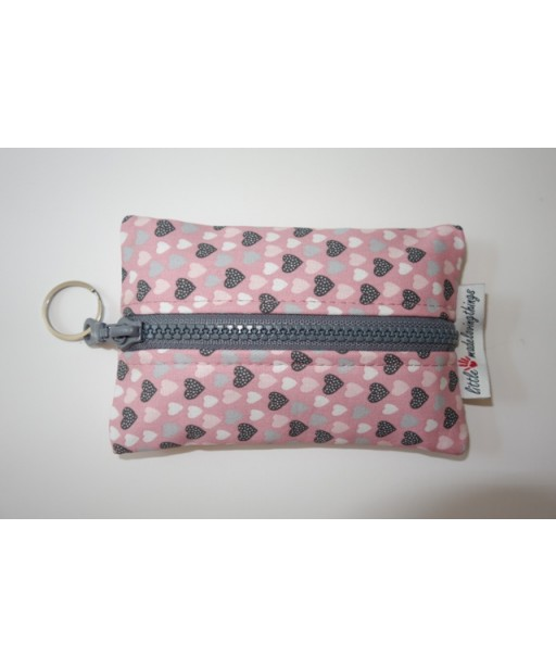 SMALL TISSUE CASE WITH ZIPPER