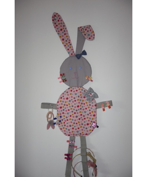 HAIR CLIPS ORGANIZER RABBIT