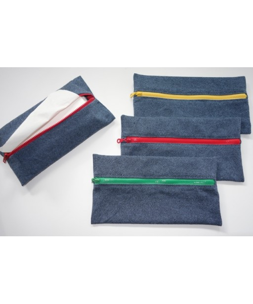 ZIPPER TISSUE CASE