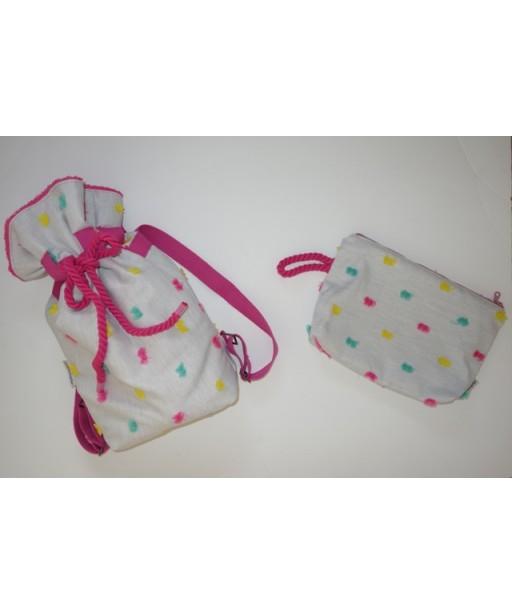 Girly beach bag