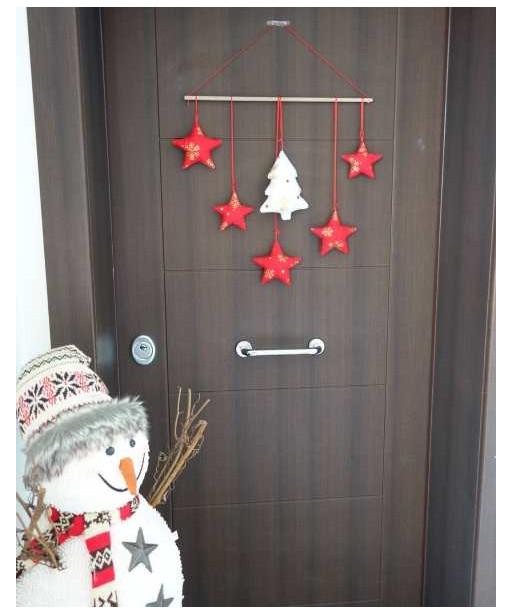 CHRISTMAS STARS GARLAND
