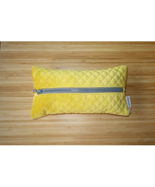 CAPITONE TISSUE CASE YELLOW