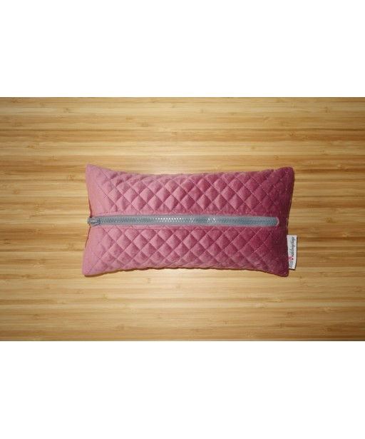 CAPITONE TISSUE CASE OLD PINK