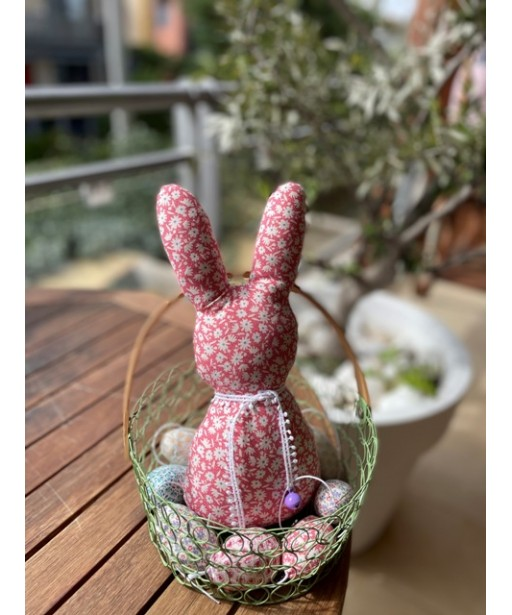 Easter rabbit red