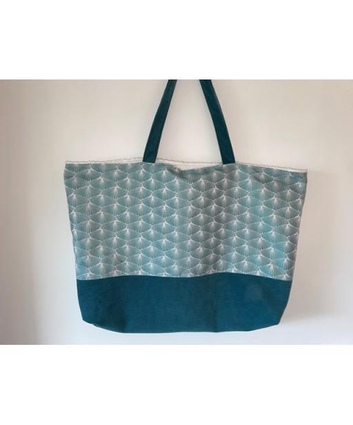 Beach bag _ geometrical shapes