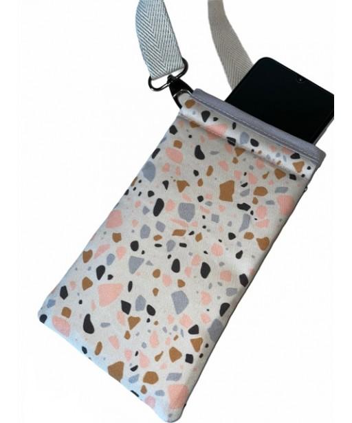 Hanging mobile case_mosaic