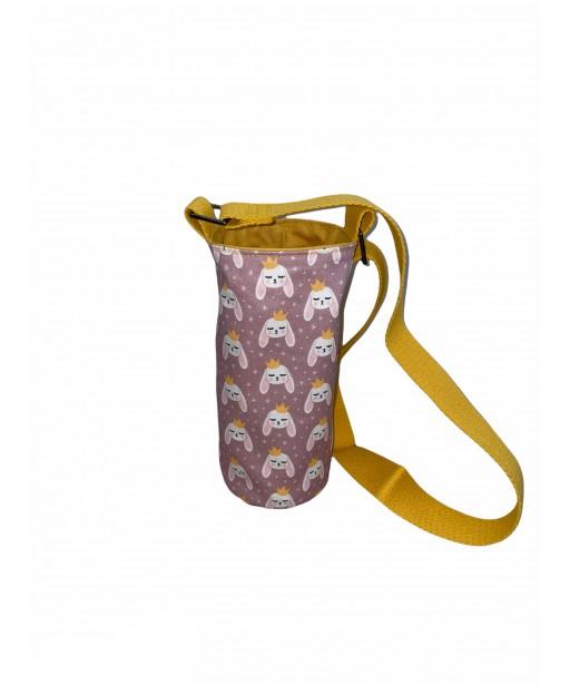Bottle holder with adjustable strap_princess bunny