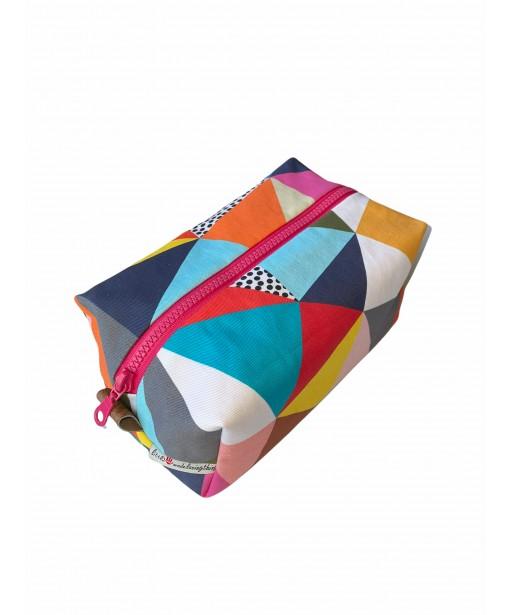 Pouch_multi color rectangle