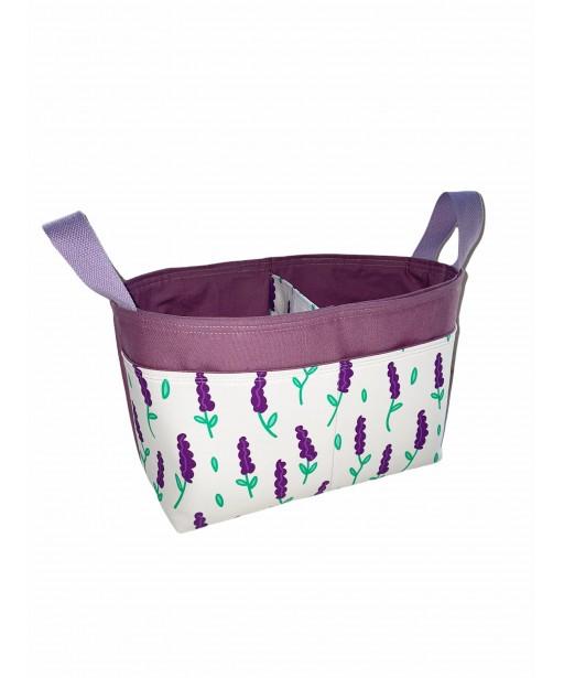 Divided basket_Lavender