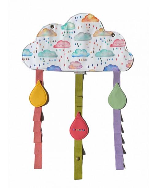 Hair clips organizer_happy cloud.