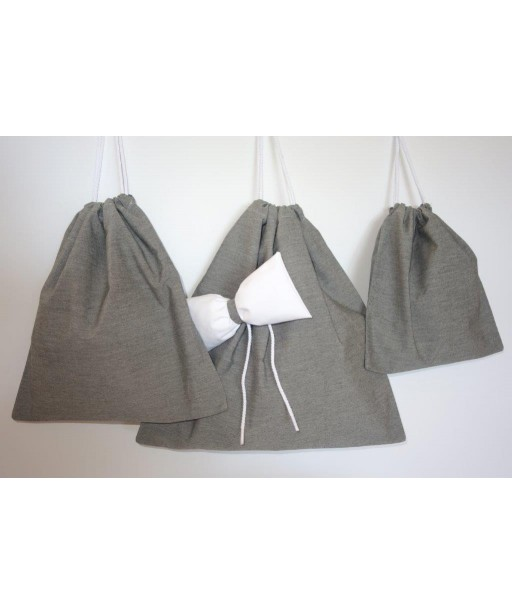 COTTON BAG GREY