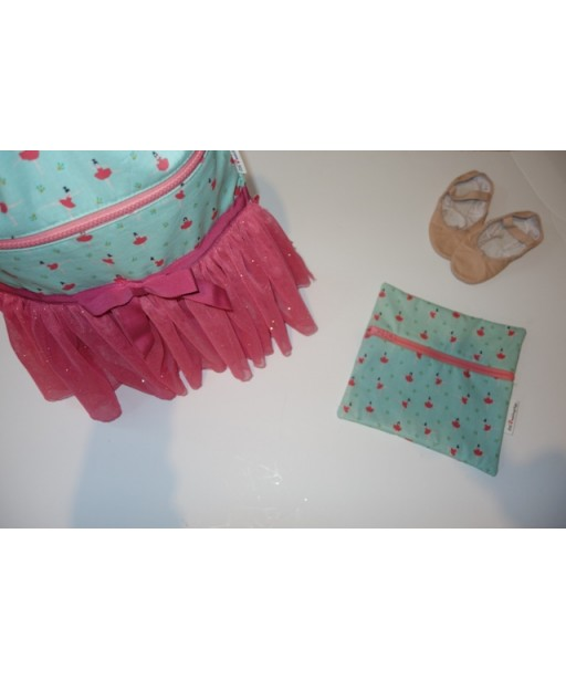 GIFT SET BACKPACK AND POUCH PRETTY BALLERINA